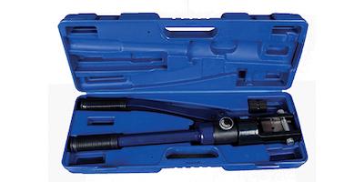 Pince de sertissage 16 T avec outillage cable 4mm-6mm