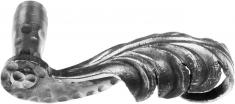 Poignée droite pour porte ou portail 130X90