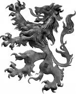 Lion médiéval type gauche