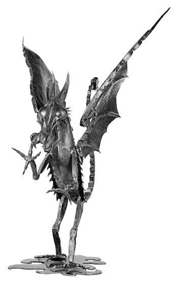 Décor médiéval de dragon