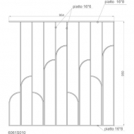 Panneau design 950x954mm