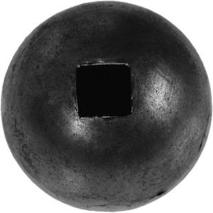 Boule Ø50 pour barre carré de 14mm