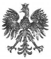 Décor d'aigle médiéval
