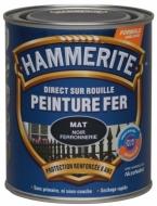 Peinture Hammerite Noir mat 0L75