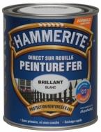 Peinture Hammerite Blanc Brillant  0L75