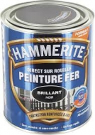 Peinture Hammerite Noir brillant 2,5 Litre