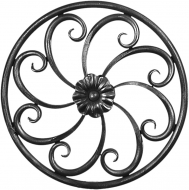 Panneau rond de décoration