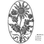 Panneaux floral Ø500