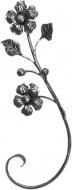 Decor fleur 460x160