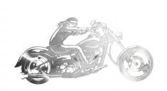 Décor métal Biker