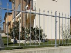 Cloture Luisa en Panneau de 2 mètres à visser