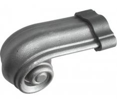 Crosse pour main courante en acier moulé