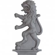 Décor Lion droite en fonte