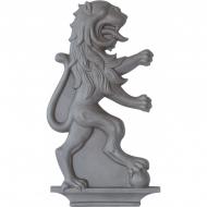Décor Lion gauche en fonte