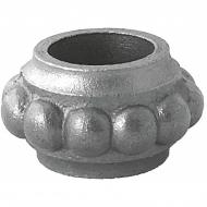 Manchon décoré rond en fonte