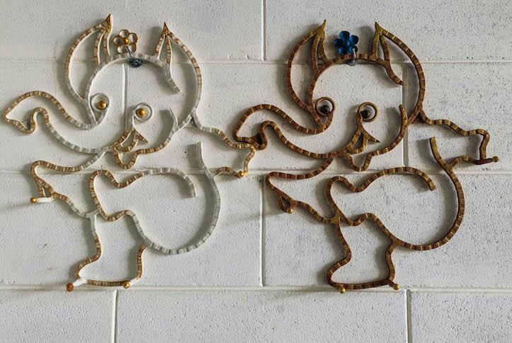 Porte-manteau éléphant ganesh