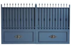 portail battants mod le alpilles 3m50 chez d co fer forg. Black Bedroom Furniture Sets. Home Design Ideas