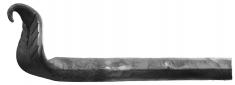 Tringle à rideaux longueur 1500mm