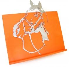 Tète de Cheval avec harnais