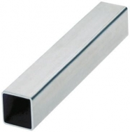 Tube inox carré 25 x 25 x 2mm 3M 304L