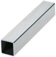 Tube inox carré 50 x 50 x 2mm 3M 304L